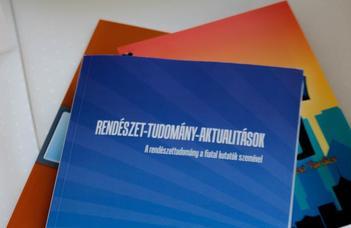 Heil Kristóf előadása a Rendészet-tudomány-aktualitások c. konferencián