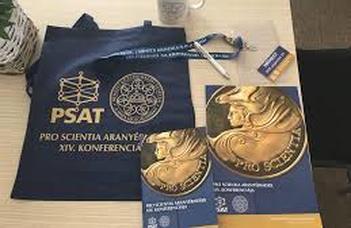 Nagy Noémi és Szépvölgyi Enikő előadást tartanak a Pro Scientia Aranyérmesek Társaságának XV. Konferenciáján