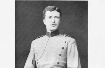 Kárbin Ákos: Anton von Monts porosz diplomata 131 évvel ezelőtt kezdte meg működését Budapesten (2021. VII. 19.)