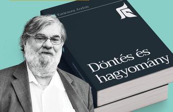 Karácsony András könyvbemutatója (2019. október 2., 14:00)
