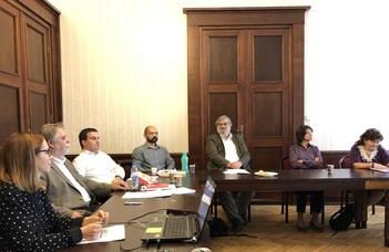 Sikeresen zárult az MTA-ELTE Jogtörténeti Kutatócsoport második munkaértekezlete.