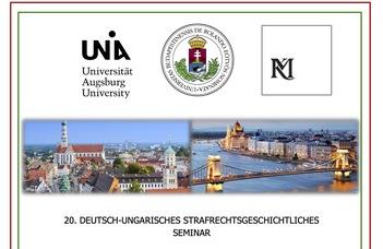 20. Deutsch-ungarisches strafrechtsgeschichtliches Seminar